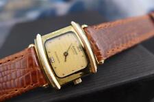Elegant Unique RADO Florence Gold Plate Ladies 23mm Quartz