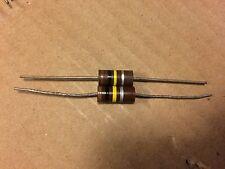 2 NOS Allen Bradley 100k ohm 2 watt 2W Carbon Comp Resistors 10% TESTED qty avai