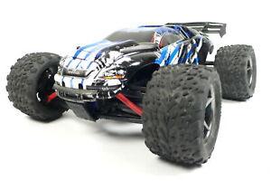 Traxxas E-Revo 4x4 VXL Blau X Brushless Monster RTR 71076-3 TRX71076-3BLUEX RCG