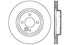 Centric Parts 121.34067 Front Disc Brake Rotor