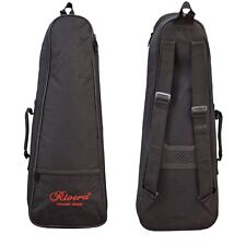 Rivera Chase Soprano Ukulele Padded Case Bag 10mm Soft Padding Shoulder Straps