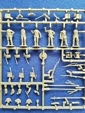 Perry miniatures Napoleonic British infantry command sprue