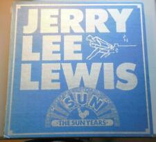 Jerry Lee Lewis The Killer The Sun years 12 Record Box Set Bear Family VinylVG++