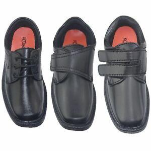 Boys School Shoes Black Pumps Kids Casual Trainers Sneakers Comfort Shoes