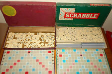 Wooden 2 players Scrabble Vintage Board & Traditional Games