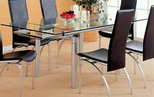 Coaster Contemporary glass Dining table