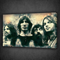 PINK FLOYD MUSIC BAND SKETCH CASCADE CANVAS PRINT WALL ART PICTURE READY TO HANG