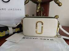 Hot sales MARC JACOBS Snapshot Small Camera Bag white grey multi
