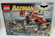 LEGO BATMAN (7886) -- THE BATCYCLE: HARLEY QUINN'S HAMMER TRUCK - SEALED/RETIRED