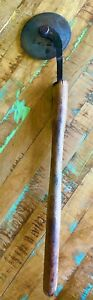 BOOKBINDING ROLL ROLLER BRASS WHEEL hand Tool - Antique Vintage