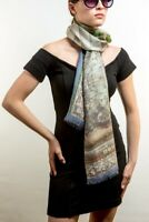 DONA Orchid Cashmere And Silk Scarf, Shawl, Wrap, NEW