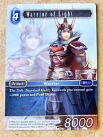 Foil Warrior of Light Final Fantasy TCG 10-065 L Legendary Opus 10