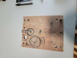 clock wooden movement