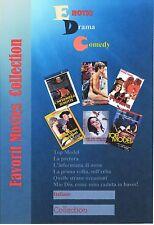 Comedy, Drama, Sex... 6 Preferiti Film in ITALIANO  DVD COLLECTION. ITALIANO
