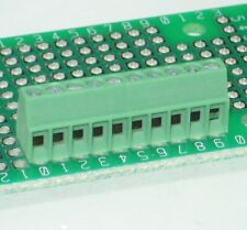 2.54mm PCB Terminal Blocks ╍ PHOENIX CONTACT MPT0,5 ╍ 10,9,8,7,6,5,4,3 & 2way