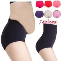 High Waist Women Briefs Cotton Panties Tighten Abdominal Postpartum Body Shaper