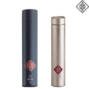Neumann KM 183 MT NI Microphone Matte Black Nickel l Authorized Dealer