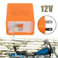 Motorcycle Motorbike 2 Pin Adjustable LED Indicator Flasher Relay A+ Accessories
