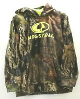 Mossy Oak Boy's XL 14-16 Long Sleeve 100% Polyester Hunting Outdoor Hoodie
