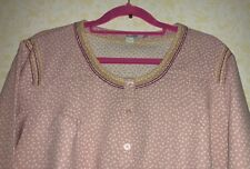 BN Boden Long Sleeved Tunic Pink Polka - Stitch Detail  Sz 18 RRP £45