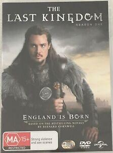 THE LAST KINGDOM Season 1 One DVD Region 4 PAL