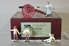 BRITAINS 17451 AMERICAN REVOLUTION MOLLY PITCHER SET with CANNON MINT BOXED nj