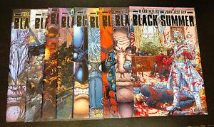 BLACK SUMMER (Avatar) -- #0 1 2 3 4 5 6 7 + Var -- FULL Series / Set -- Ellis