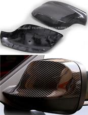 For BMW 2010-2013 X3 E83  2010-2012 X1 E84 CARBON FIBER SIDE MIRROR COVER CAPS