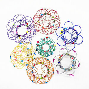 Magic Steel Iron Ring Decompression Flexible Basket Soft Toys Anti Stress Gifts