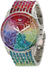 Juicy Couture Women's 1901018 Stella Rainbow Ombre Crystal Bracelet Watch