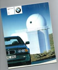 Big 2001 BMW 3 Series SEDANs Brochure/Catalog w/Color Charts: 325i,325xi,330i,xi