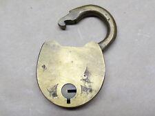 Vintage Antique Brass Padlock