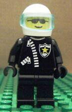 LEGO MINIFIGURE – CLASSIC TOWN – POLICE – SHERIFF STAR & ZIPPER - NEW