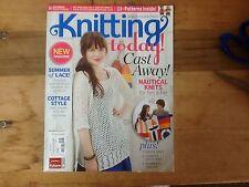 Knitting Today! Magazine June/July 2011 25+ Patterns Cast Away Nautical Knits