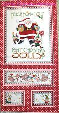 Moda Mary Engelbreit Isn't Christmas Jolly Santa Panel