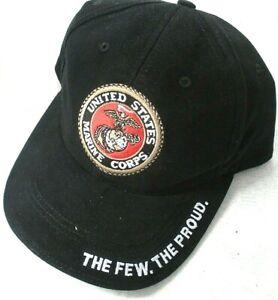 Rothco9327, United States Marine Corps Cap, USA Military Trucker hat. NWT. Black