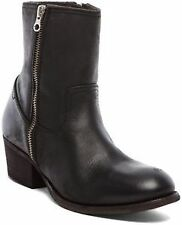 Women's Zip Cuban Heel Boots