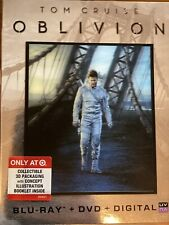 Oblivion Target Exclusive Blu ray DVD UV 2013 Lenticular Slipcover 💯% 🎁 🎄