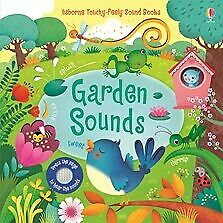 USBORNE GARDEN SOUNDS TOUCHY-FEELY BOOK