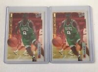 1996-97 Fleer Ultra Encore Antoine Walker RC Lot Of 2 Celtics Rookie Card
