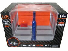 1/24 SCALE DIECAST  2 POST AUTO LIFT WITH REAL LIFT UP FUNCTION (WT9908)