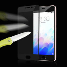For Meizu MX6 M5 7 Pro M3 Note Full Covered Tempered Glass Screen Protector Film