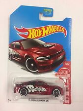 Hot Wheels 2017 RED EDITION TARGET EXCLUSIVE '15 Dodge Charger SRT FDR64 (T01)