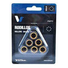 (420669) Juego Rodillos Variador Tecnium PIAGGIO Vespa ET2 50 Año 97-99 Ø16x13 -