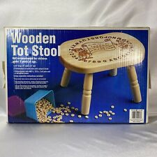 Vintage Pine Wood Toddler Stool