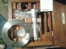 Tesa Brown Amp Sharpe Swiss 70 80 Mm Three Point Inside Bore Micrometer Set Ring