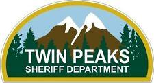 "Twin Peaks - Sheriff Department Sticker - 3.5"" x 6.5"""