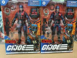 Hasbro Gi Joe gijoe classified 6 inch Cobra viper set of 2 exclusive DHL