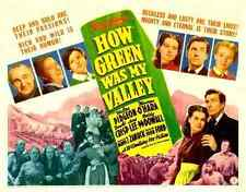 Film How Green Was My Valley 03 A3 Box Canvas Print