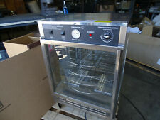 """Gold Medal 5550Pz 23"""" Countertop Pizza Humidified Display w/ (4) 18"""" Pizza Racks"""